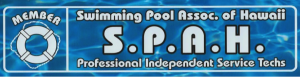 Swimming Pool Association of Hawaii SPAH logo