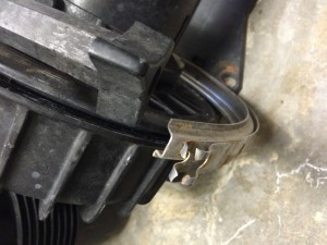 Pump Clamp - Broken