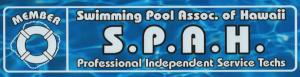 Swimming Pool Association of Hawaii SPAH logo